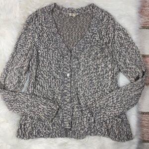 Eileen Fisher Knit Button Down Cardigan